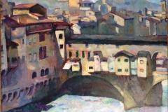 Efter restaurering af Firenzemaleri